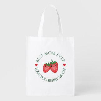 Sacola Ecológica O melhor amor do dia das mães da mamã nunca você