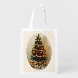 Sacola Ecológica Oh, árvore de Natal reusável