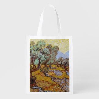 Sacola Ecológica Oliveiras de Vincent van Gogh |, 1889
