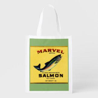 Sacola Ecológica os salmões da maravilha dos anos 30 podem