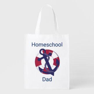 Sacola Ecológica Pai náutico de Homeschool do conservante de vida