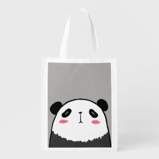 Sacola Ecológica Panda preguiçosa