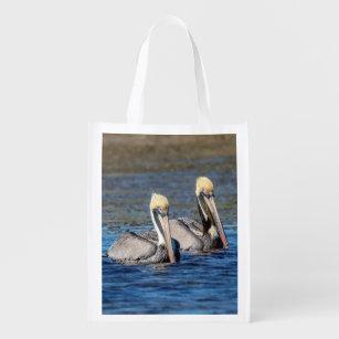 Sacola Ecológica Pares de pelicanos