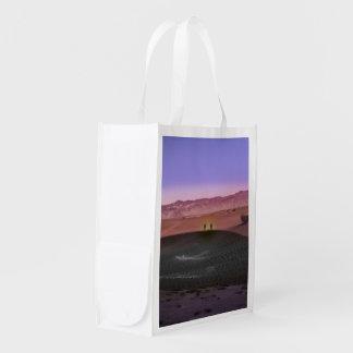 Sacola Ecológica Parque nacional de Vale da Morte do nascer do sol