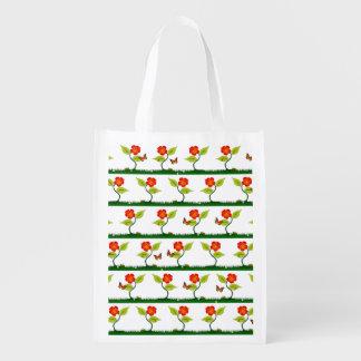 Sacola Ecológica Plantas e flores