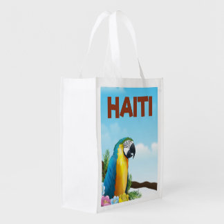 Sacola Ecológica Poster de viagens de Haiti
