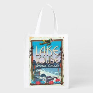 Sacola Ecológica Poster de viagens de Lake Louise, Alberta Canadá