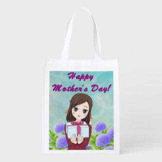 Sacola Ecológica Presente feliz do dia das mães (customizável)
