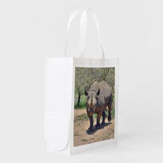 Sacola Ecológica rinoceronte