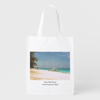 Sacola Ecológica Saco da lembrança com cena da praia