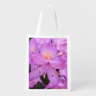 Sacola Ecológica Saco de Reuseable da flor do rododendro