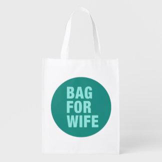 Sacola Ecológica Saco para a esposa