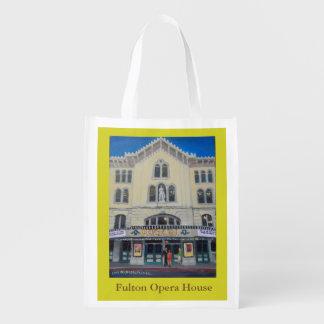Sacola Ecológica Saco reusável com teatro da ópera de Fulton