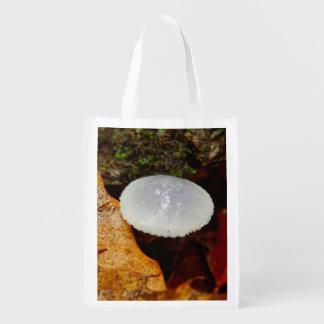 Sacola Ecológica Saco reusável do cogumelo dos stylobates de Mycena