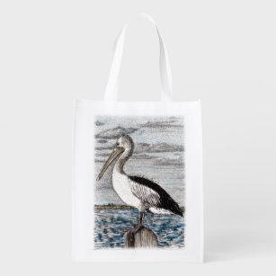 Sacola Ecológica Saco reusável do pelicano