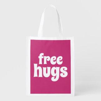 Sacola Ecológica Saco reusável dos abraços livres