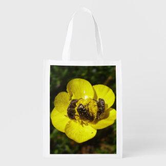 Sacola Ecológica Saco reusável dos besouros de Oxythyrea Funesta
