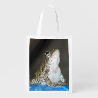 Sacola Ecológica saco reusável w/frog