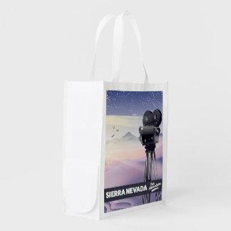 Sacola Ecológica Serra poster de viagens de Nevada