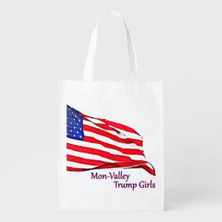 Sacola Ecológica Wristlets & bolsas patrióticos