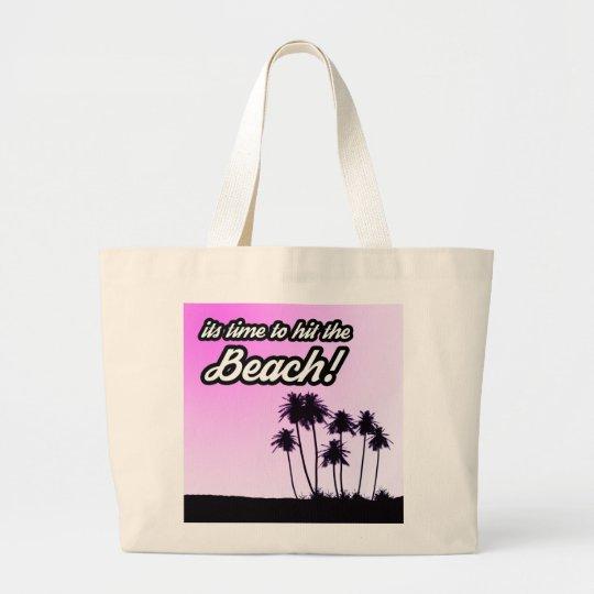 Sacola enorme da praia bolsa tote grande
