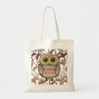 Sacola Eyed grande bonito da coruja Sacola Tote Budget