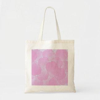 Sacola floral dos rosas cor-de-rosa gastos e bolsa
