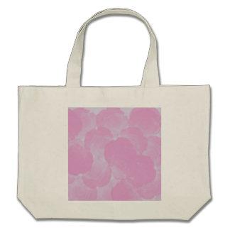 Sacola floral dos rosas cor-de-rosa gastos e chiqu bolsa