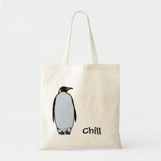 Sacola fria do pinguim bolsa tote