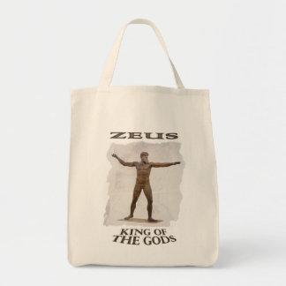 Sacola grega de Zeus do deus Sacola Tote De Mercado