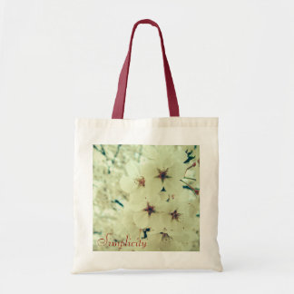 Sacola impressa floral bolsa tote
