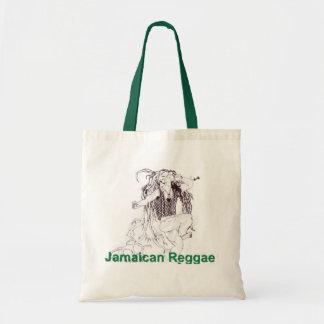 Sacola jamaicana da reggae sacola tote budget