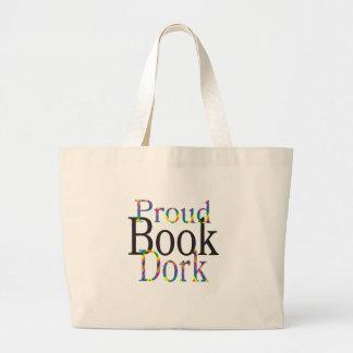 Sacola orgulhosa do Dork do livro Bolsa Tote Grande