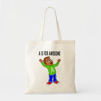 sacola para dos desenhos animados bonitos do sacola tote budget