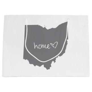 Sacola Para Presentes Grande <3 Home Ohio
