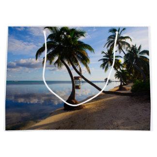 Sacola Para Presentes Grande Ambergris Caye Belize
