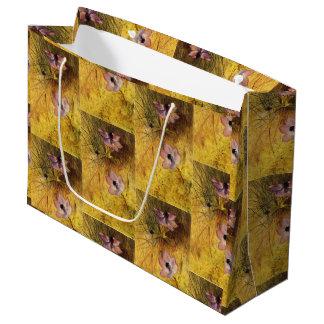 Sacola Para Presentes Grande Anêmonas selvagens florentinos Henry Newman do