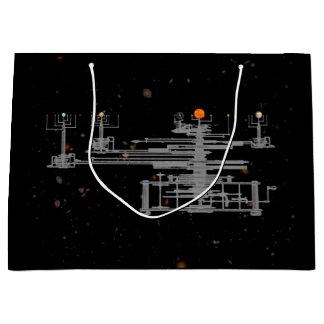 Sacola Para Presentes Grande Antiguidade planetária no espaço