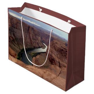 Sacola Para Presentes Grande ARIZONA - curvatura em ferradura A - rocha