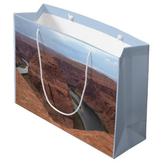 Sacola Para Presentes Grande ARIZONA - curvatura em ferradura AB - rocha
