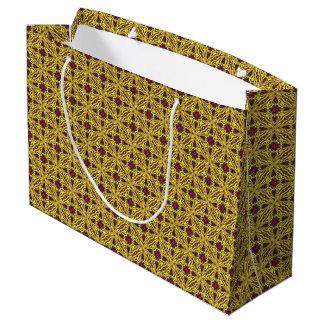 Sacola Para Presentes Grande As bolsas reais do presente do caleidoscópio do