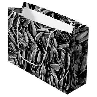 Sacola Para Presentes Grande As sementes de girassol refrigeram a fotografia