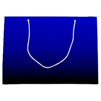 Sacola Para Presentes Grande Azul elétrico