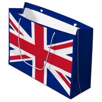 Sacola Para Presentes Grande Bandeira do Reino Unido