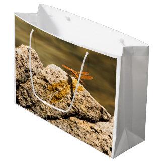 Sacola Para Presentes Grande Banho de Sun da libélula