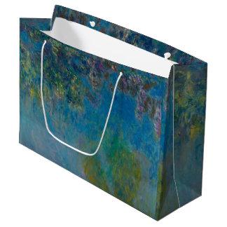 Sacola Para Presentes Grande Belas artes GalleryHD floral das glicínias de
