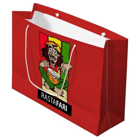 Sacola Para Presentes Grande Bolsa Presente GR Rastafari