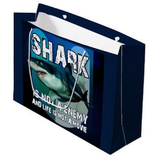 Sacola Para Presentes Grande Bolsa Presente GR Shark