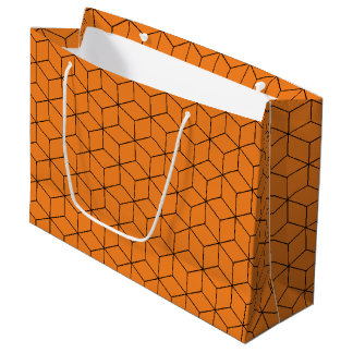 Sacola Para Presentes Grande Caixas empilhadas dos deleites