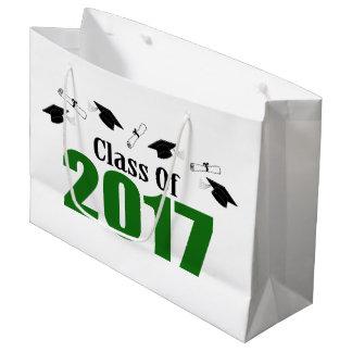 Sacola Para Presentes Grande Classe do saco 2017 do presente da graduação